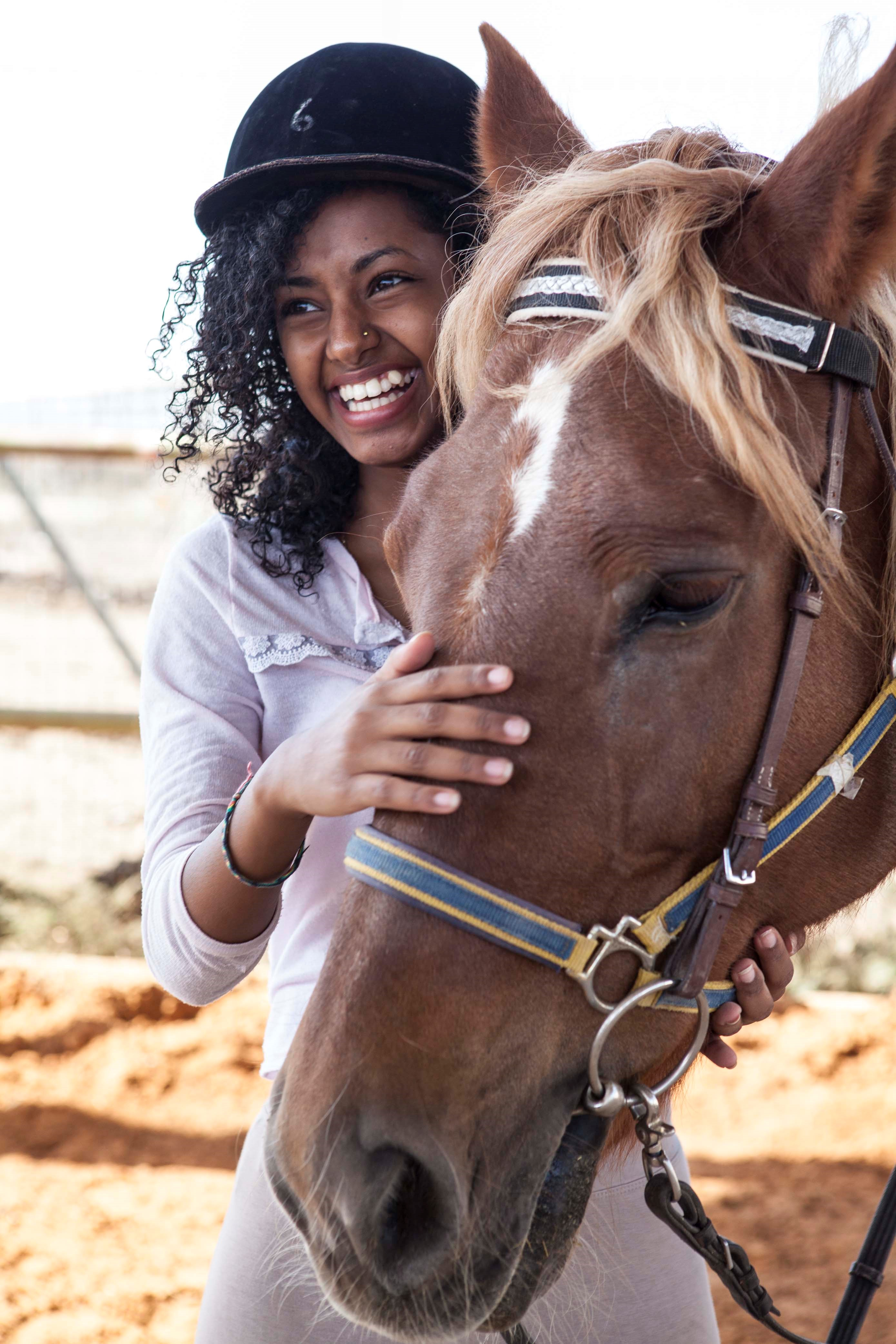 Equine Therapy at Beit Ruth