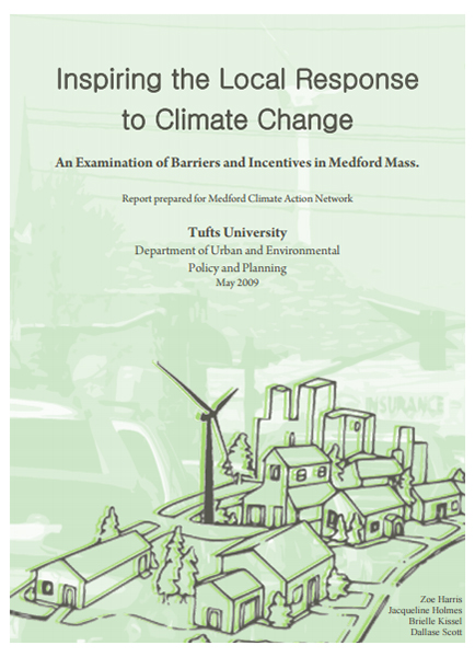 Inspiring the Local Response to Climate Change report