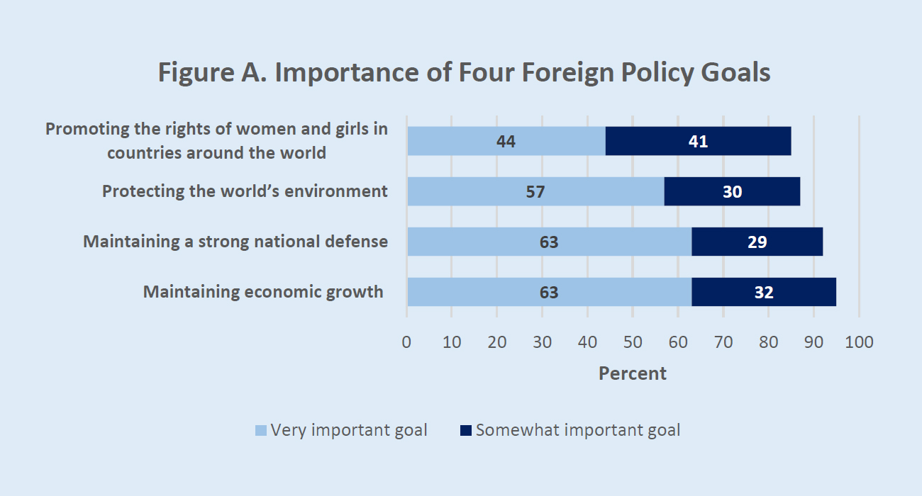 Gender and Foreign Policy Survey