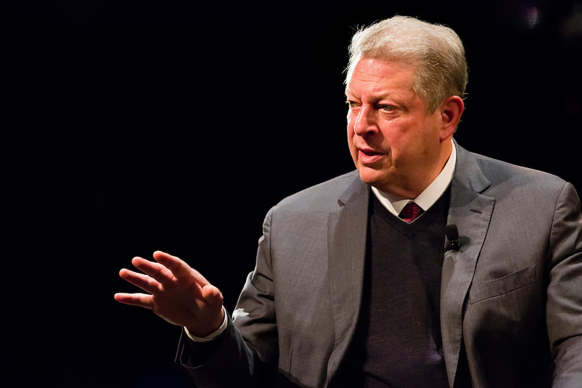 Al Gore at Tufts