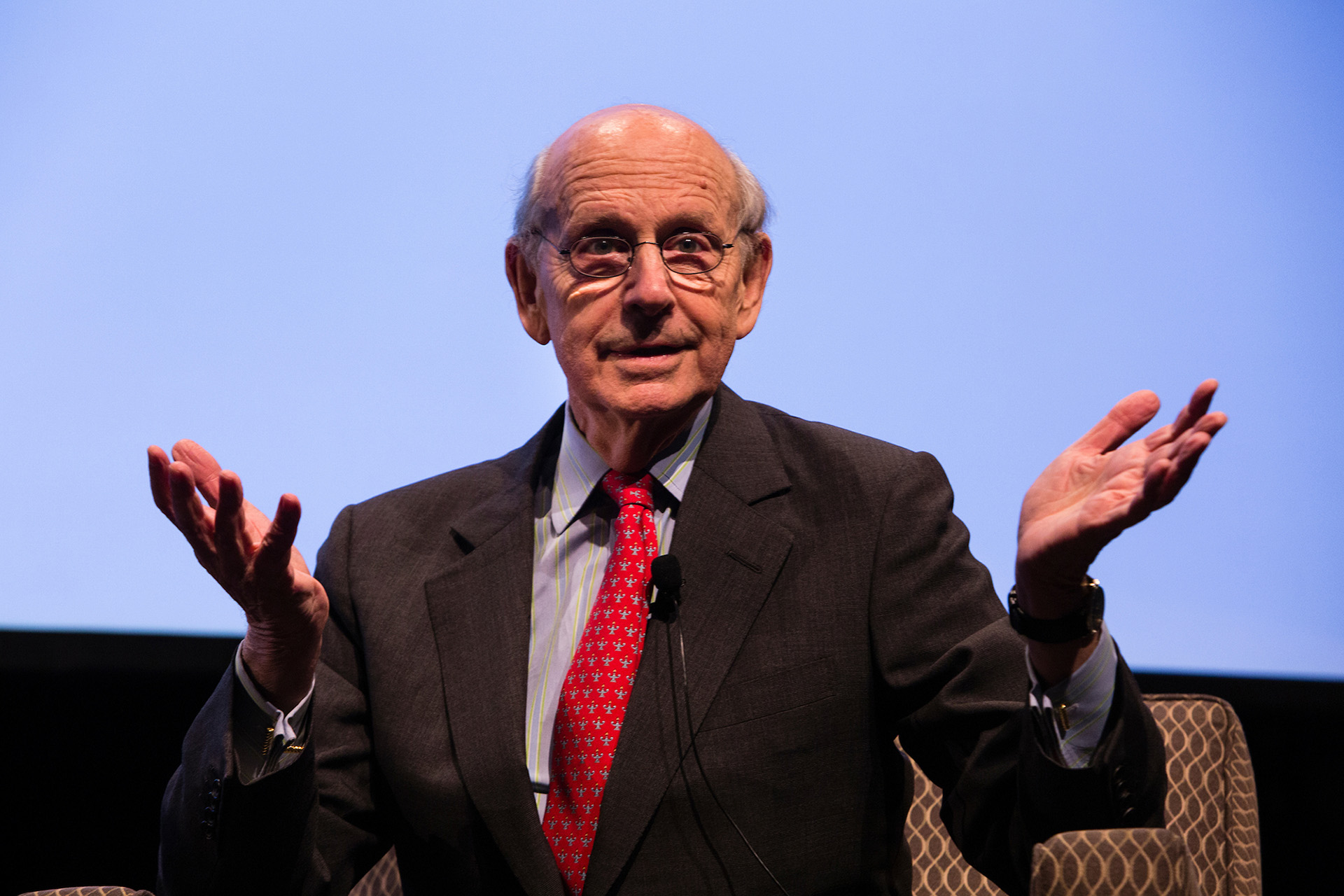 Justice Stephen Breyer was a Tisch College Distinguished Speaker