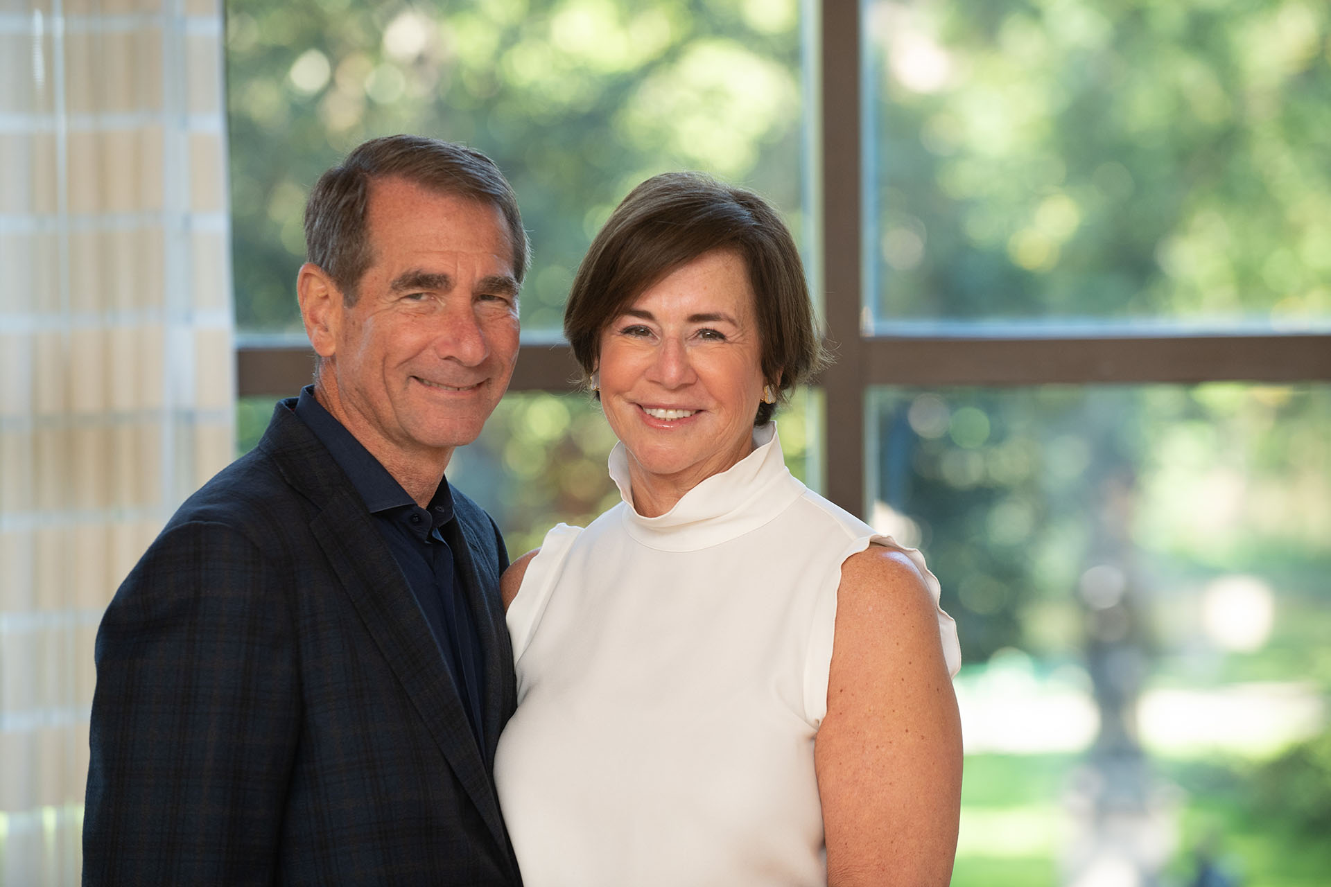 Alan and Susan Solomont