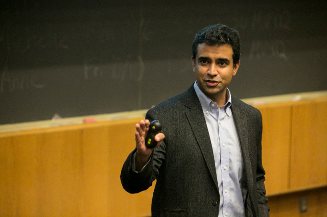 Rishi Manchanda at Tufts