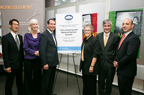 Tisch College leaders at White House Summit on Civic Learning