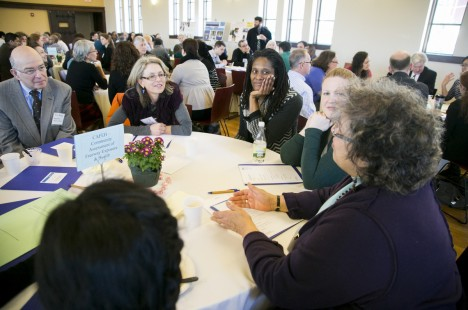 Table conversations at 2015 Symposium on Community Partnerships