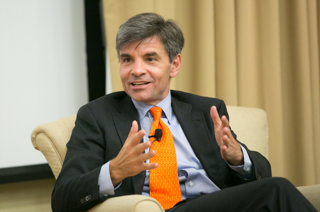 George Stephanopoulos at Tufts University