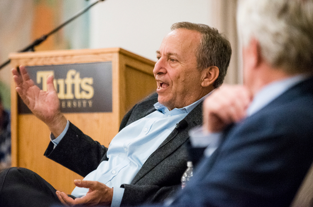 Larry Summers at Tufts