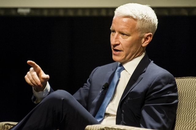 Anderson Cooper at Tufts University