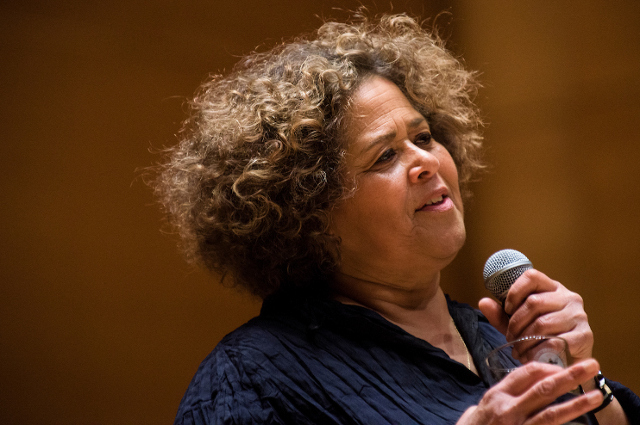 Anna Deavere Smith at Tufts University