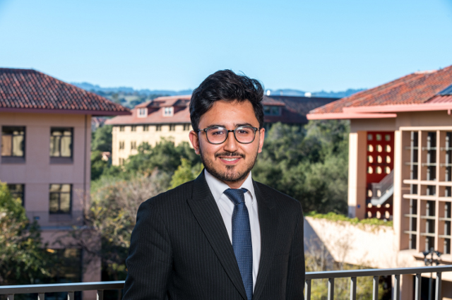 Abuzar Royesh at Stanford