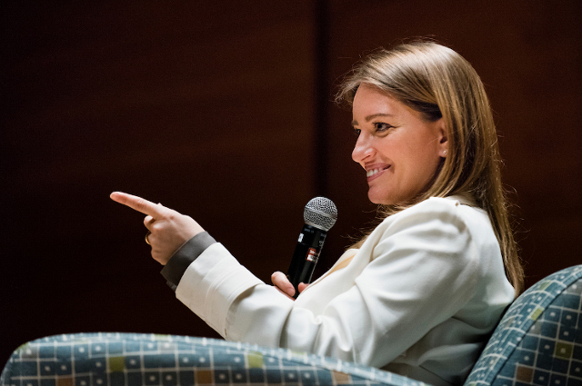 MSNBC Anchor Katy Tur, the 2018 Murrow Forum speaker