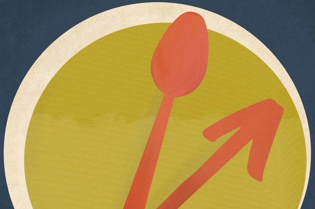 Illustration of a plate with clock hands, one a spoon. Fifty years after a landmark conference on nutrition, Tufts is co-hosting a conversation about how far we've come and where to go next.