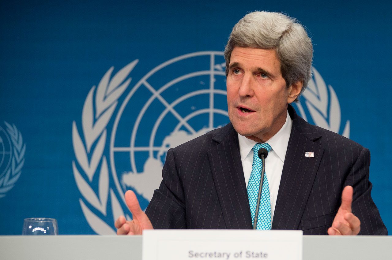 U.S. Special Presidential Envoy for Climate John Kerry, pictured in 2014