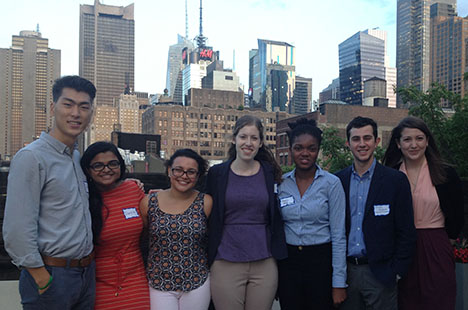 Group shot of 204 Tisch Summer Fellows in New York