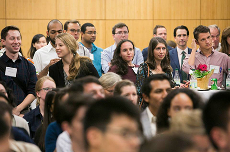 Attendees at Tufts Social Impact Network launch event