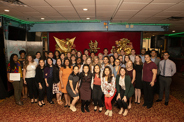 Students from Tufts' health sciences schools inducted into Honos Civicus in 2019