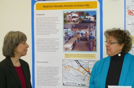 Poster presentation of CAFEH research