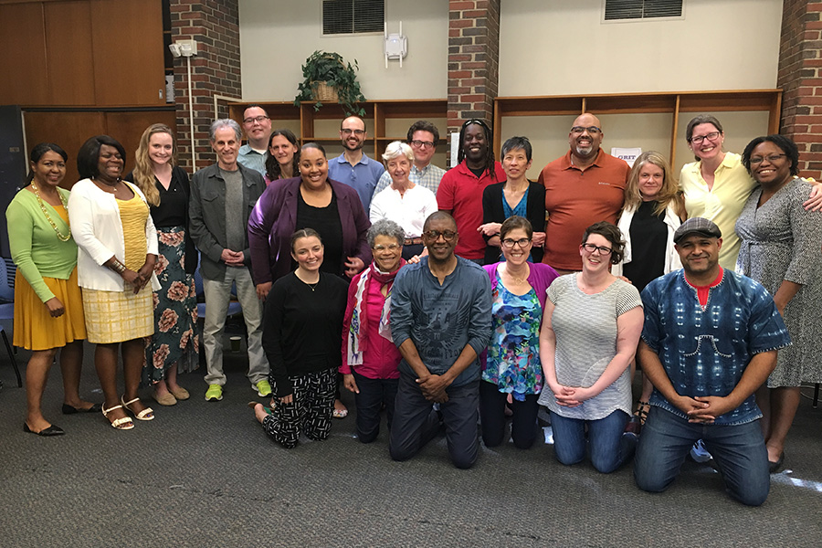 Tufts faculty and staff at racial literacy training