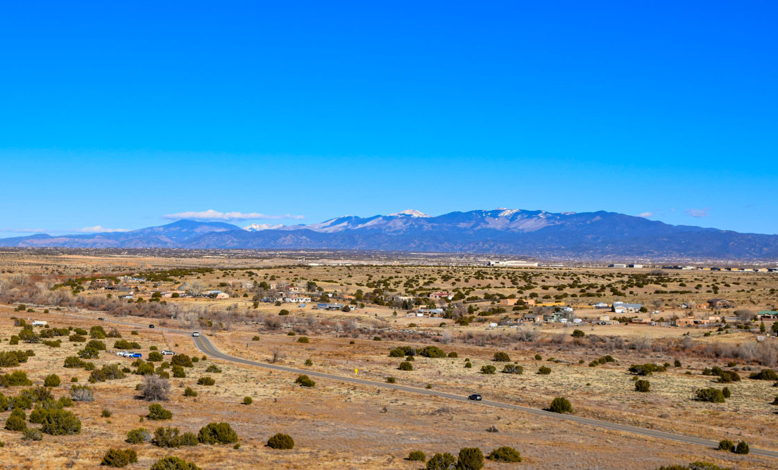 view of New Mexico