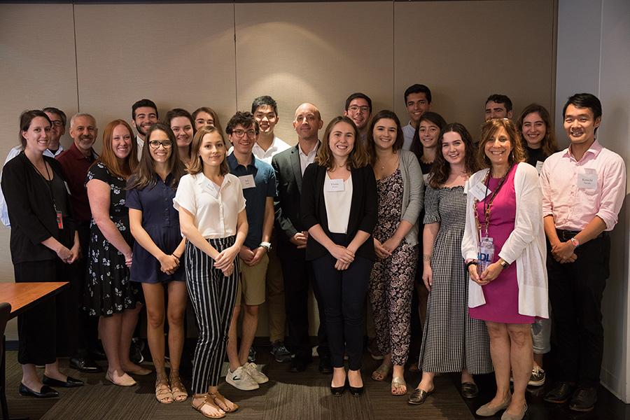2018 NYC Tisch Summer Fellows with Anti-Defamation League CEO Jonathan Greenblatt