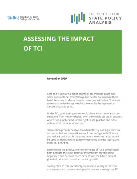 cover of TCI analysis